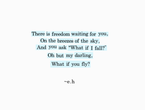 There Is Freedom Waiting For You!