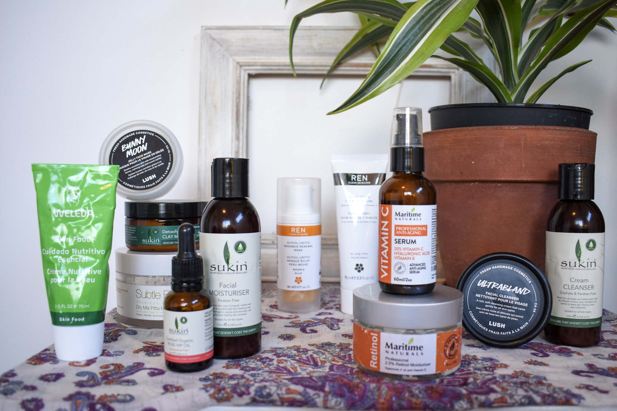 My skincare selects and practices — the full loot by Vienda Maria